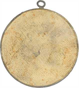 Constitution, la place de la Liberté à Paris, médaille uniface par Palloy, 1790 Paris