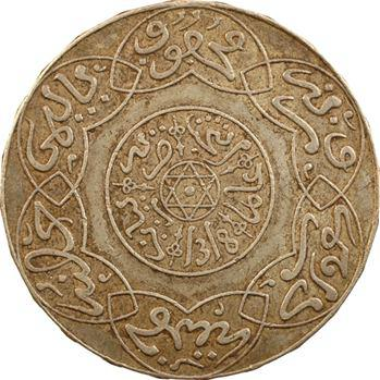 Maroc, Abdül Aziz I, 5 dirhams, AH 1318 (1900) Paris