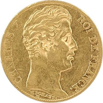 Charles X, 20 francs, 1825 Paris