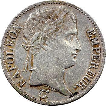 Premier Empire, 5 francs Empire, 1814 Paris