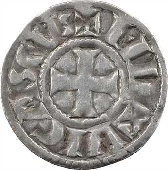 Limoges (vicomté de), au nom d'Eudes, denier immobilisé, s.d. (avant 980) Limoges