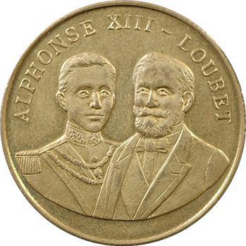 Mutuelle de France et colonies, Alphonse XIII et Émile Loubet, 1905