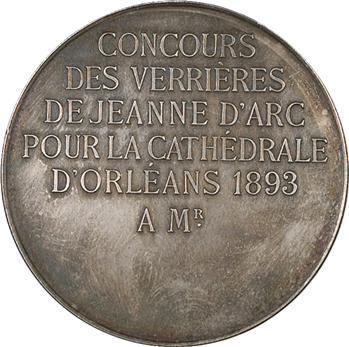 IIIe République, réfection des verrières de la cathédrale d'Orléans, 1893 Paris