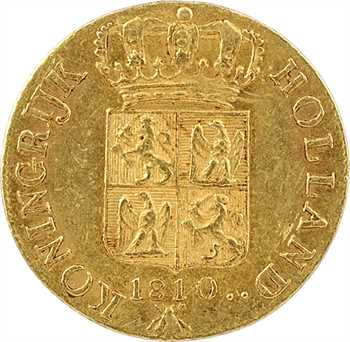 Hollande (royaume de), Louis Napoléon, ducat 2e type, 1810 Utrecht