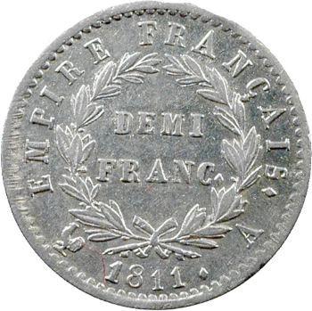 Premier Empire, demi-franc Empire, 1811 Paris
