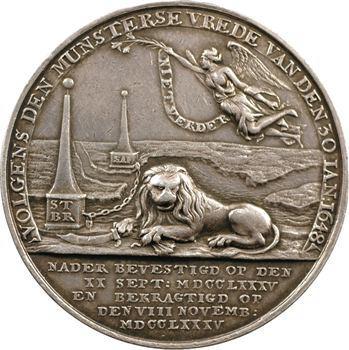 Pays-Bas, ratification du Traité de Paix de Fontainebleau, 1785