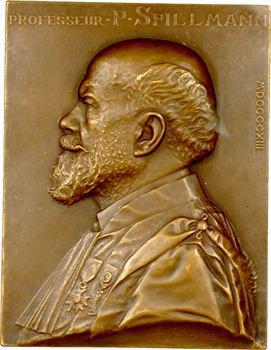 Prud'homme (G.-H.) : le Professeur P. Spillmann, 1913 Paris