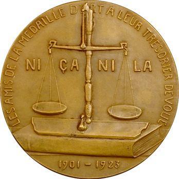 Belgique, Les Amis de la Médaille d'Art, Édouard Laloire par Jenny Lorrain, 1923 Bruxelles