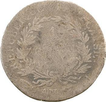 Premier Empire, 1 franc calendrier révolutionnaire, An 13 Limoges