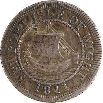 Royaume-Uni, Hampshire, Newport, sixpence, 1811