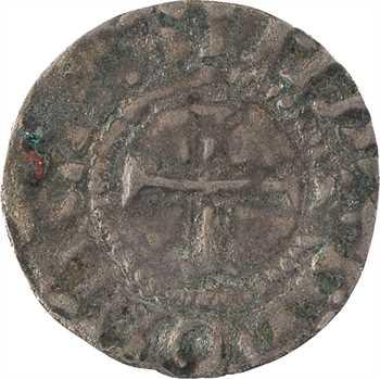 Quentovic, au nom de Charles le Chauve, denier immobilisé, Quentovic, s.d. (avant 980)