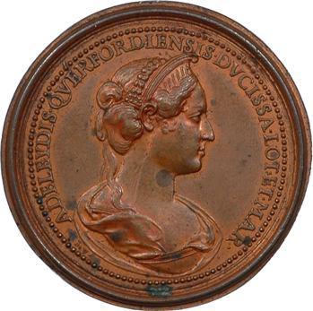 Lorraine : Simon Ier (1076-1139) et Adélaïde de Querfort, par Saint-Urbain, s.d