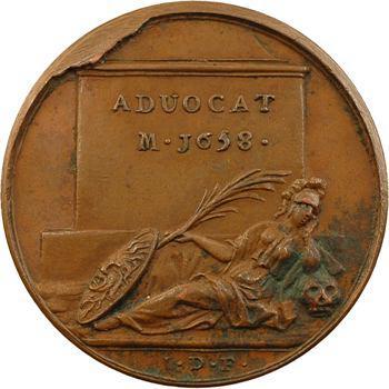 Antoine le Maistre, médaille par J. Dassier