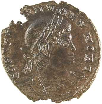 Constantin II, nummus, Trèves ?, 330-331