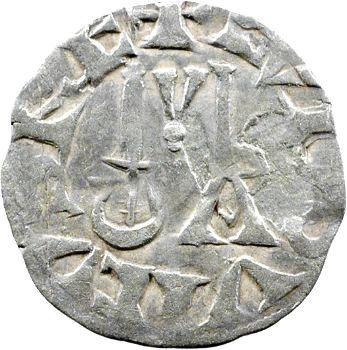 Louis VII, denier 2e type, Pontoise