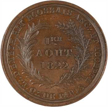 Louis XVIII, Orient de Paris, loge d'Emeth, 1822 Paris
