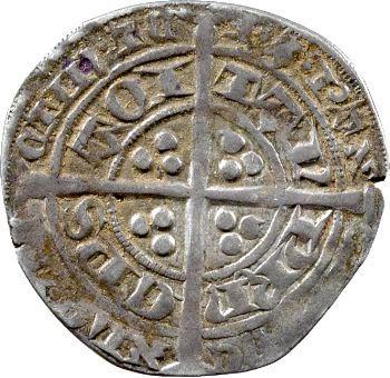 Aquitaine (duché d'), Édouard le Prince noir, demi-gros, Limoges
