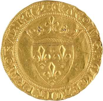 Charles VI, écu d'or à la couronne 4e émission, Toulouse