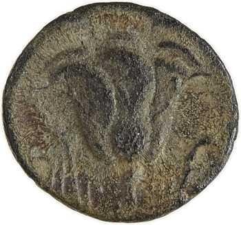 Carie, Rhodes, bronze AE10, IIIe-IIe s. av. J.-C