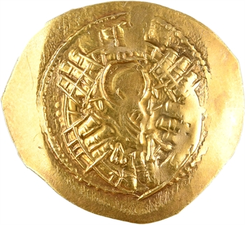 Andronicus II seul, hyperpyron (scyphate), Constantinople, 1285-1295