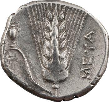 Lucanie, Métaponte, didrachme, c.330-290 av. J.-C.