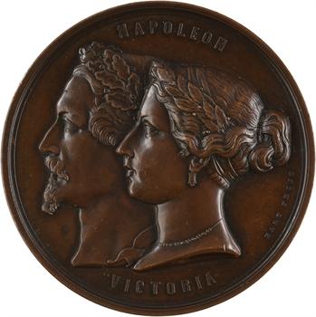 Russie/ France, Guerre de Crimée, alliance entre la France et le Royaume-Uni, 1854