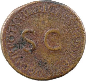 Livie, dupondius frappé sous Tibère, Rome, 22-23