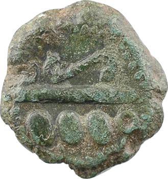 Calètes, bronze aux chevrons, c.60-50 av. J.-C