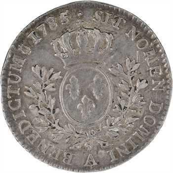 Louis XVI, cinquième d'écu aux branches d'olivier, 1785/4 Paris