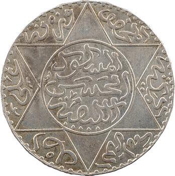 Maroc, Hassan Ier, 5 dirhams, AH 1309 (1891) Paris