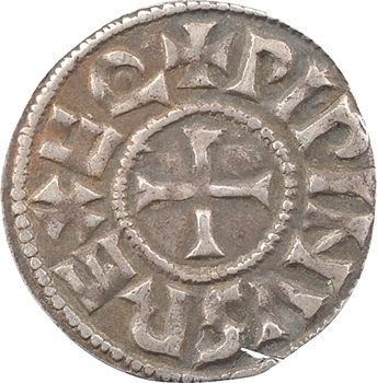 Aquitaine, Pépin I ou II, denier, Melle