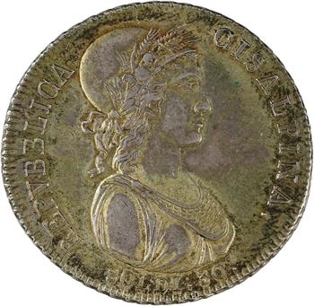 Italie, République Cisalpine, 30 soldi, An IX Milan