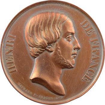 Henri V, don au comte de Saint Amand, à Londres, 1842 Prague et 1843 Londres