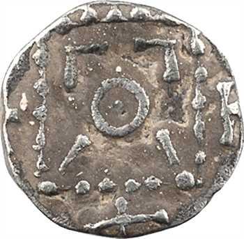 Nord de la Tamise ou Frise continentale, sceat ou denier type VERNUS, s.d. (c.695-710)