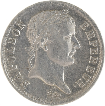 Premier Empire, 1 franc République, 1808 Lille