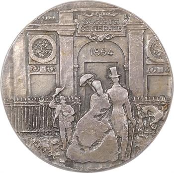 Ve République, centenaire de la Société Générale, par Revol, 1864-1964 Paris