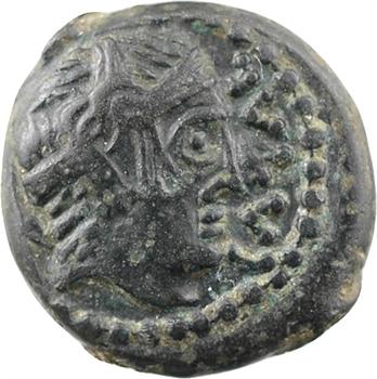 Carnutes, bronze à l'aigle et légende CATAL, c.50-30 av. J.-C