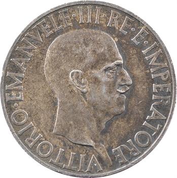 Italie (royaume d'), Victor-Emmanuel III, 10 lire, 1936 Rome