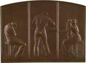 Roty (L.-O.) : inauguration des prisons de Fresnes, s.d. (1900) Paris