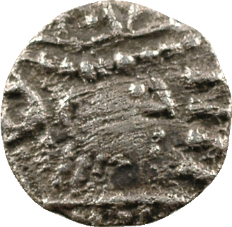 Frise continentale, sceat ou denier, légende runique, s.d. (700-710), sud du Bas-Rhin