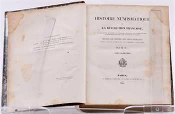 Hennin (M.), Histoire numismatique de la Révolution française, Paris 1826