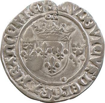 Louis XII, demi-gros de Roi, Lyon