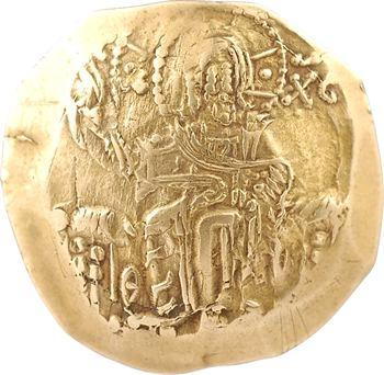 Jean II, hyperpyron scyphate, Constantinople, 1118-1143