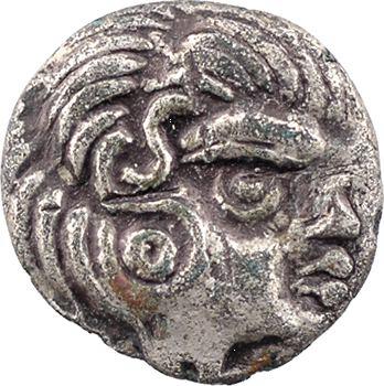 Coriosolites, quart de statère, classe III, c.80-50 av. J.-C.