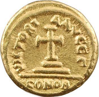 Héraclius et Héraclius Constantin, solidus, Carthage, An 3 = 614-615