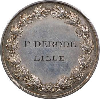 Second Empire, médaille honorifique au Professeur Derode (Lille), s.d. Paris
