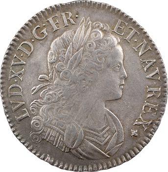 Louis XV, écu de Navarre, 1718 Bordeaux
