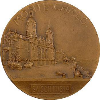 Monaco, concours international des chiens, 1er prix, par T. Szirmaï, 1913-1914 Monte-Carlo
