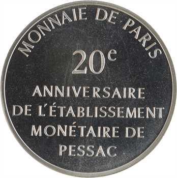 Ve République, module 100 francs, 20e anniversaire de Pessac, 1993