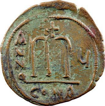 Tibère II Constantin, follis, Constantinople, 579